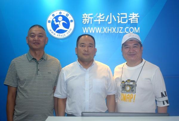 库菲公司与新华小记者签订战略合作